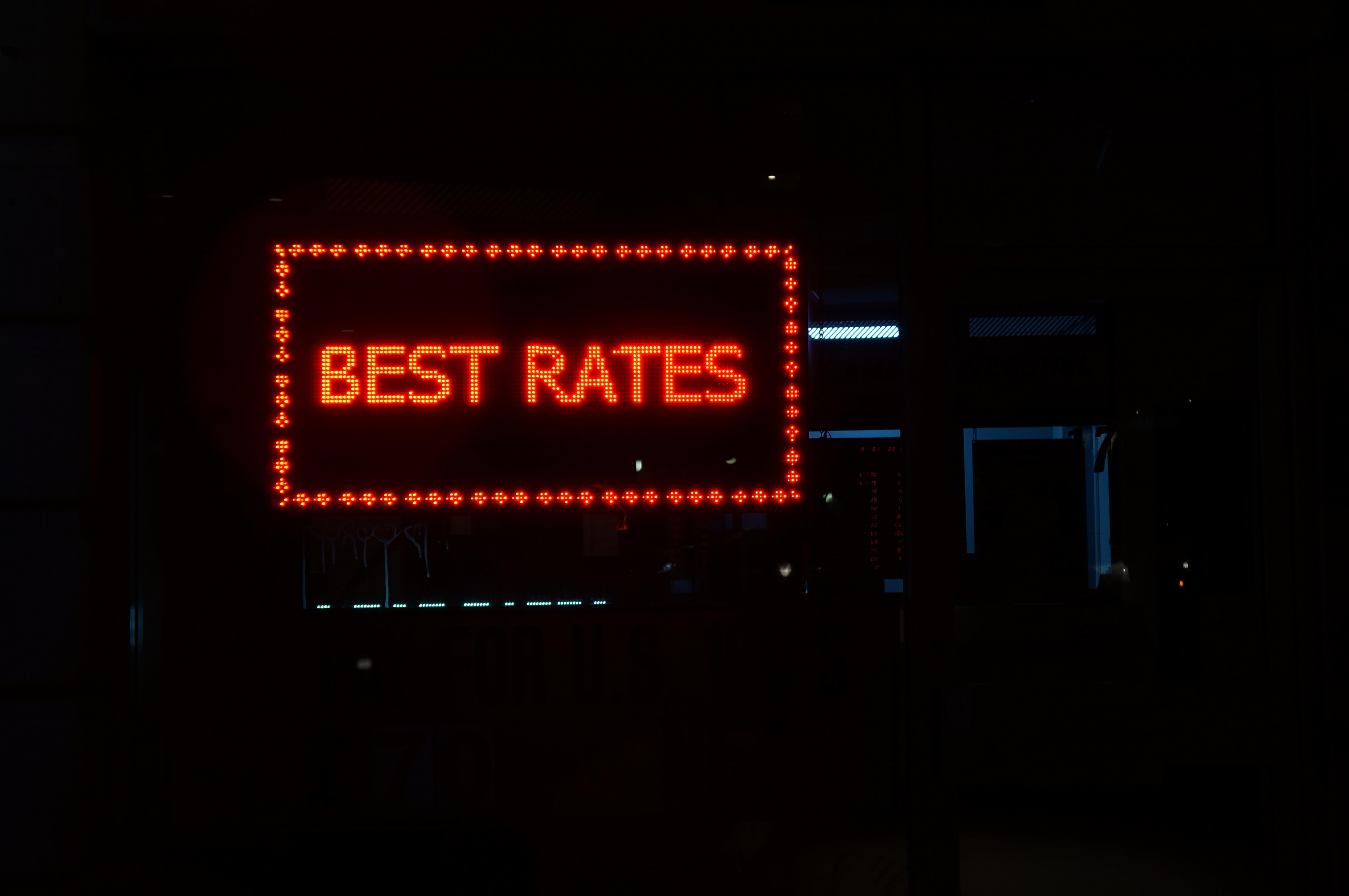Photo of the Best Rates