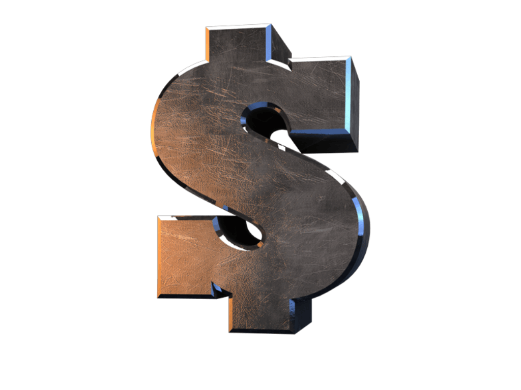 Picture of a dollar sign