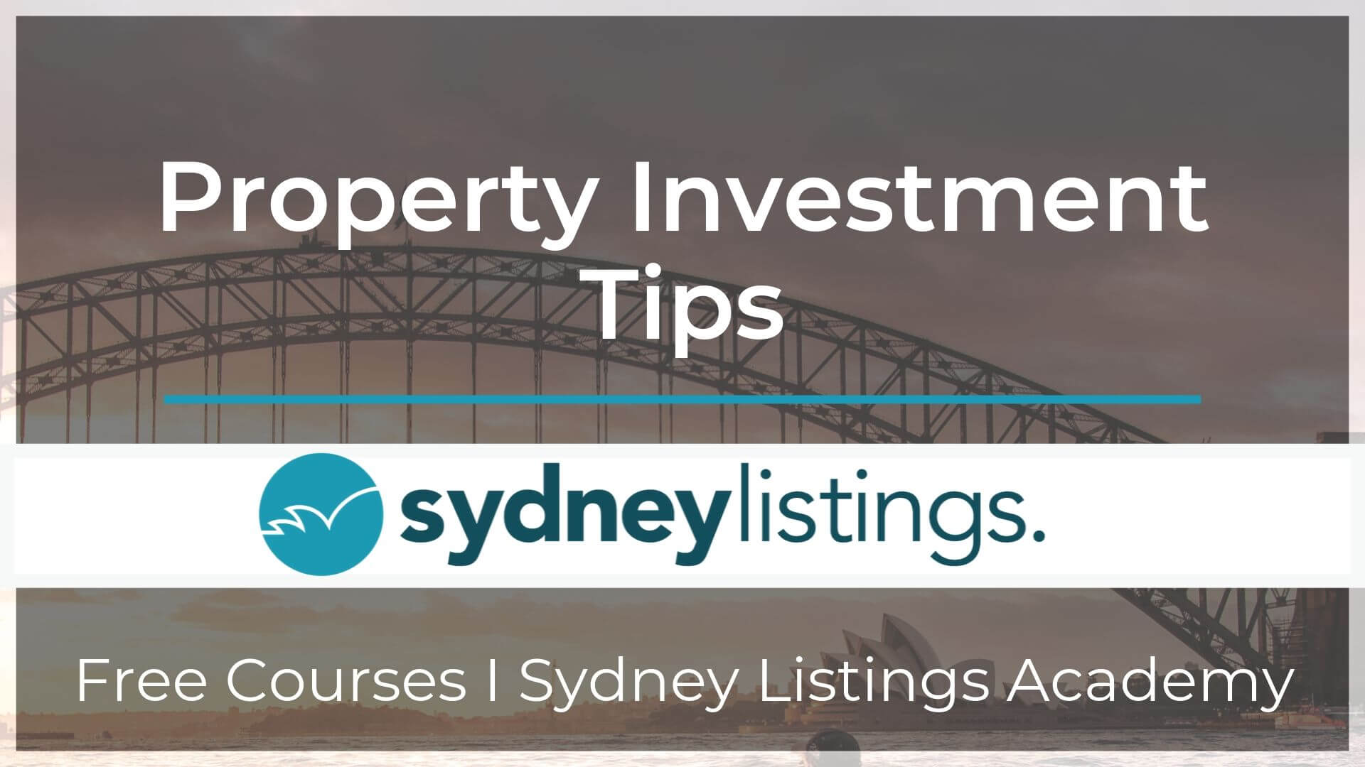 Course Property Investment Tips
