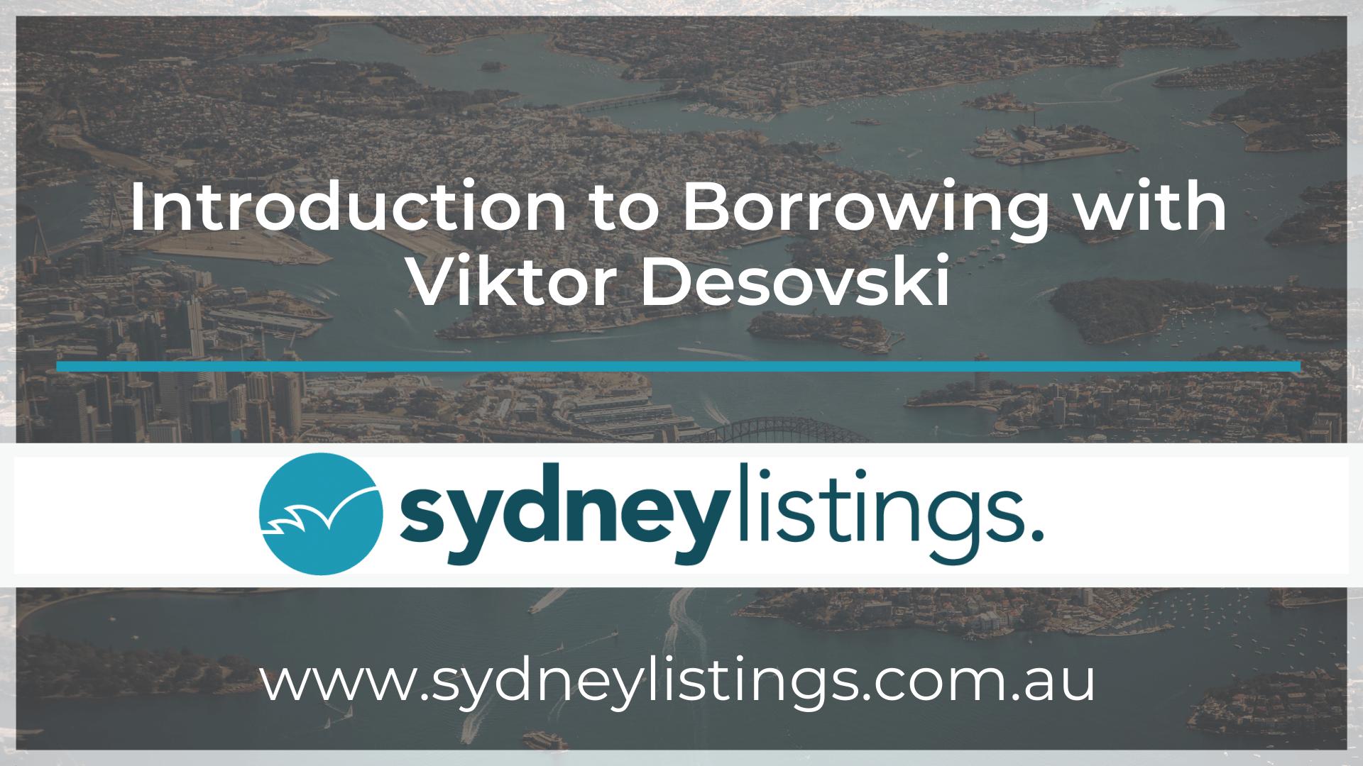 Introduction to Borrowing with Viktor Desovski