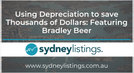 Using Depreciation to save Thousands of Dollars: Featuring Bradley Beer
